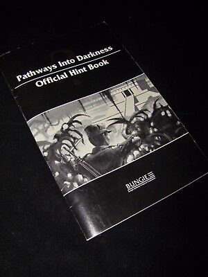 Pathways into Darkness OFFICIAL HINT BOOK Guide for Mac Macintosh Game by Bungie