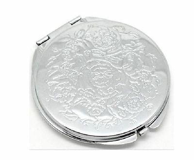 Portable Pocket Double-Sided Round Cosmetic Makeup Compact Hand Mirror Purse