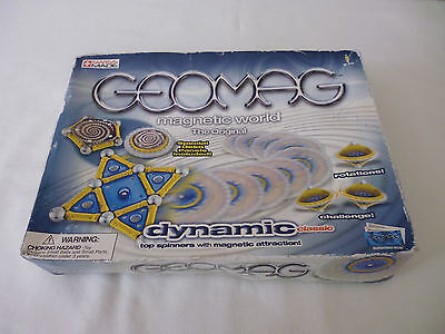 Geomag Magnetic World - Dynamic Classic Top Spinners - New But Very Tatty Box