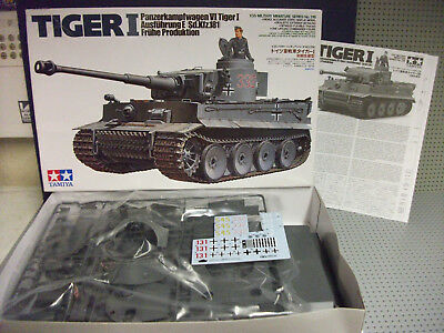 BNIB ALL PARTS SEALED TAMIYA 1/35 GERMAN TIGER 1 Sd.kfz.181 AUSFUHRUNGE LATE VER