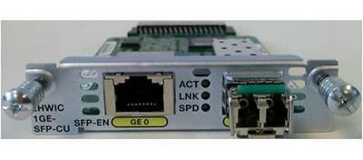 Cisco NIM-1GE-CU-SFP - 1-PORT GE WAN NIM DUAL-MODE - RJ45 & SFP