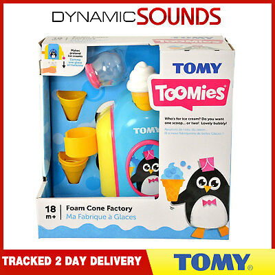 TOMY 72378 Foam Cone Factory Bath Toy 18m+ NEW 2018 Model Just Released