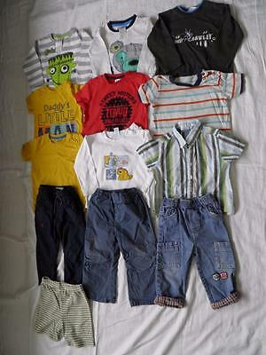 Boys mixed Bundle of Clothing Aged 12- 18 months, John Lewis, George, F&F (A2)