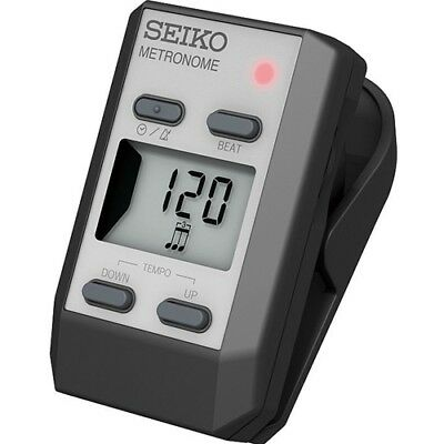 Seiko DM51 Clip-On Digital Metronome - Silver