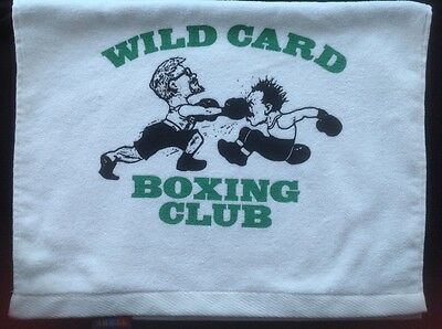 Wild Card Boxing Club Official Gym Towel