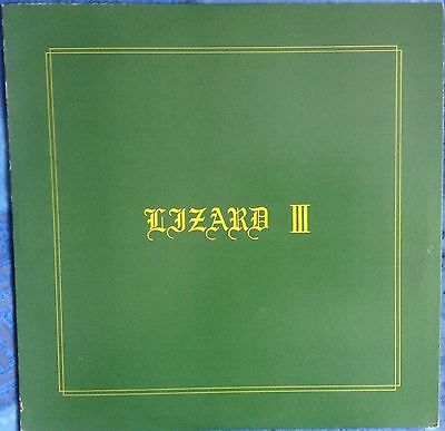 "LIZARD - III - 12"" EP with insert, Japanese - City Rocker Records CRL 002"