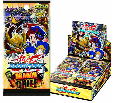 ++ Future Card Buddyfight Dragon Chief Booster Packung english ++