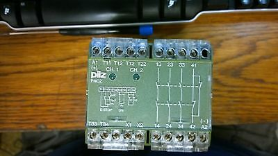 PILZ SAFETY RELAY PNOZ/24VDC RS Number : 314-400