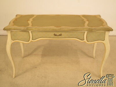 23972E: Paint Decorated French Louis XIV Style Writing Desk