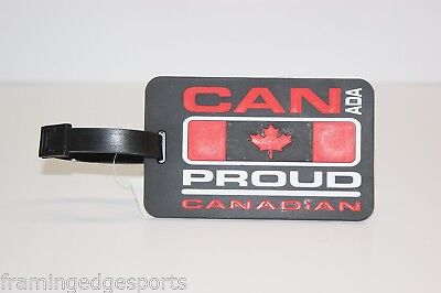 Canada Proud Canadian Luggage Tag