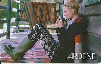 New Nice Girl Mint Gift Card From Ardene Canada Bilingual # 2 No Value