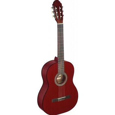 Stagg C440 Full Size Classical Guitar - Red