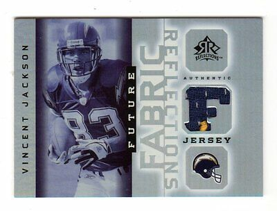 Vincent Jackson Nfl 2005 Reflections Future Fabrics (Chargers,buccaneers)