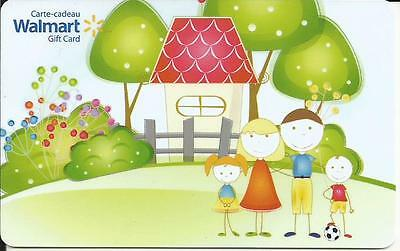 New Little Family 2016 Mint Gift Card From Walmart Canada Bilingual