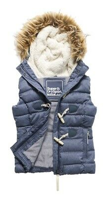 Superdry Marl Toggle Puffle Gilet Chalecos
