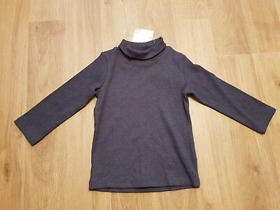 BNWT NEXT baby girls 9-12 months top long sleeve polo