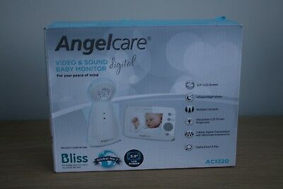 Angelcare AC1320 Video & Sound Digital Baby Monitor RRP £129