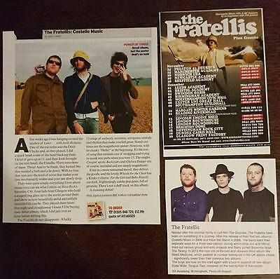 The Fratellis - Magazine cuttings/Advertisement