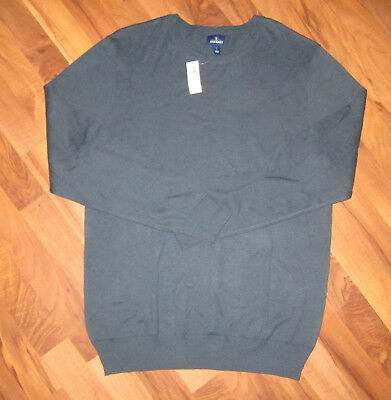 Men's Old Navy Lightweight Crewneck Sweater L Large Blue Long Sleeve Pullover