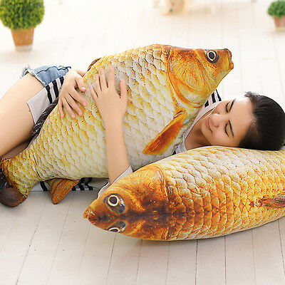 Design Creative Small Fish Shape Decorative Cushion Throw Pillow With Inner TB