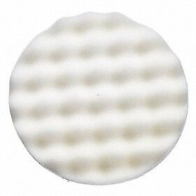 3M Finesse-it 60799 Buffing Pad, 3 in White Foam, 1 Pad