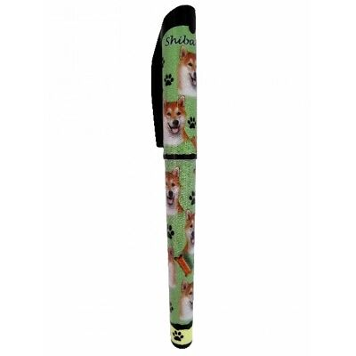Shiba Inu Dog Replaceable Gel Pen Black Ink
