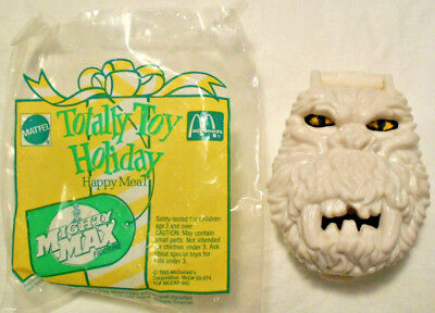 1993 McDONALDS MIGHTY MAX ABOMINABLE SNOWMAN w ORIGINAL PACKAGE