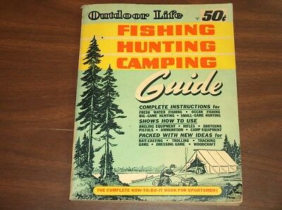 1947 Outdoor Life Fishing Hunting Camping 240 Pages *very Good Condition