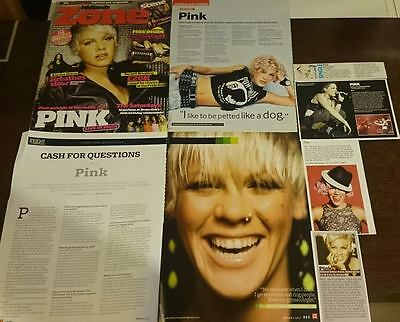 Pink - Magazine Cuttings Collection