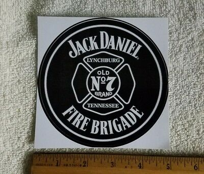 Jack Daniels Old No7 Super Large Decal Sticker Fire Brigade