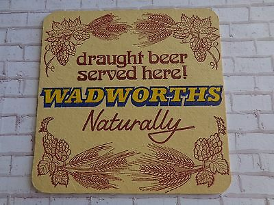 Beer Collectible Coaster ~*~ Northgate Brewery WADWORTHS Draught, Since 1885, UK