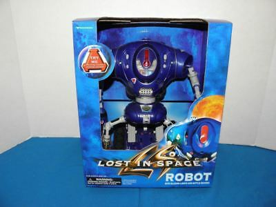 "Vintage 1997 Lost In Space 8""  Robot Nos Never Opened"