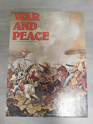 WAR AND PEACE The Game of the Napoleonic Wars - As new- unpunched. 1980 Avalon H