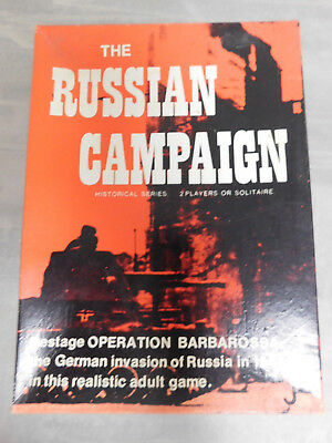 THE RUSSIAN CAMPAIGN mostly unpunched JEDKO GAMES