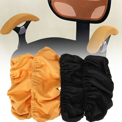 1Pair Removable Chair Armrest Covers Elastic Protector Office Arm Armchair Cover