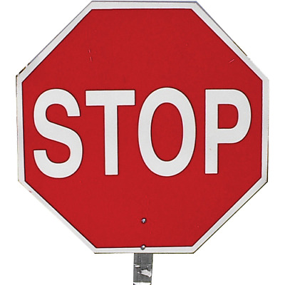 Pro-Line Traffic Safety 14inch Paddle Sign - Stop/stop - PS03