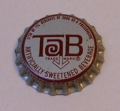 Vintage Tab...cork...unused..Soda Bottle Cap