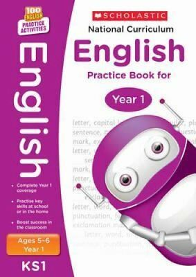 National Curriculum English Practice Book for Year 1 by Scholastic 9781407128948