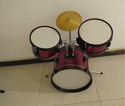 New Wine Red Birch Band Performance Top Grade Musical Instruments Drum Set .