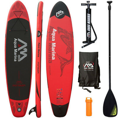 Aqua Marina Monster 2017 Stand Up Paddle Board Inflatable Paddel Pumpe Sup Isup