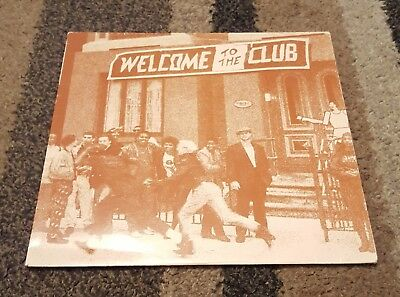WELCOME TO THE CLUB LP Various Artists LP USA Jump Street 1987 Garage House NM