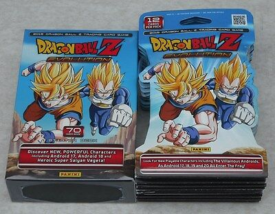 Panini Dragonball Z Evolution Starter Deck & 10 Booster Packs New & Sealed
