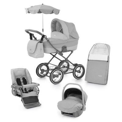 BabyStyle Prestige 2 Classic Chassis Travel System (Flint) Inc. Cosytoes