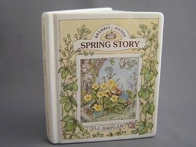Brambly Hedge *SPRING BOOK MONEY BOX*  Royal Doulton