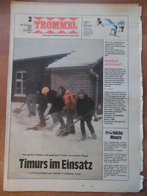 + TROMMEL 3 - 1987 Timurs im Einsatz Don Quichote 2 DDR Christa Rothenburger