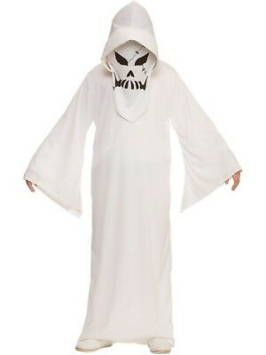 Ghastly Ghost Boys Fancy Dress Halloween Ghoul Haunted Scary Kids Child Costume