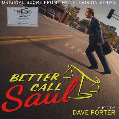 Dave Porter - OST Better Call Saul Season 1&2 Black (2LP - 2017 - EU - Original)