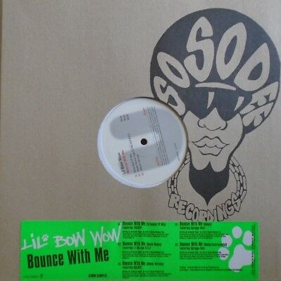 "LIL BOW WOW ~ Bounce With Me ~ 12"" Single PS PROMO"