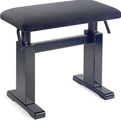 Stagg Hydraulic Piano Bench - Black
