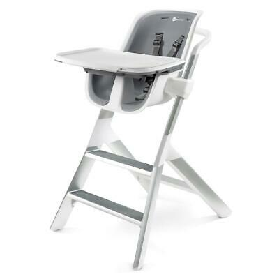 4moms Highchair 2.1 with Magnetic Tray (White Grey)